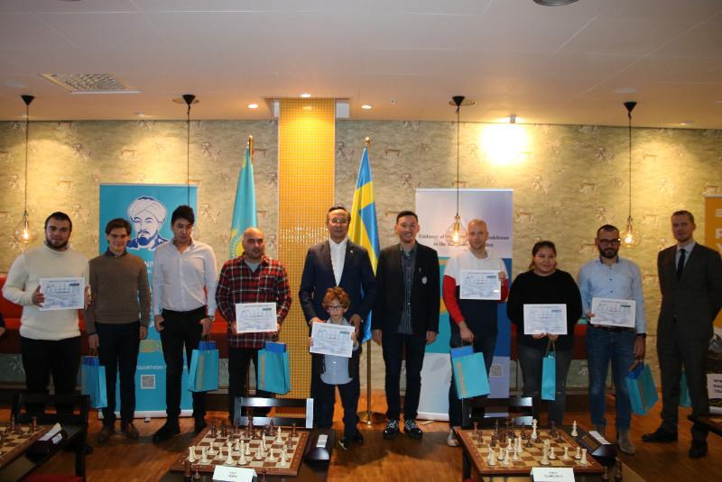 В Швеции в честь 1150-летия аль-Фараби прошло мероприятие по шахматам