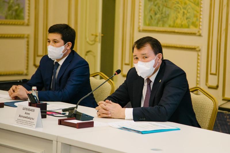 Шпекбаев Павлодар облысының жұртшылығымен кездесті