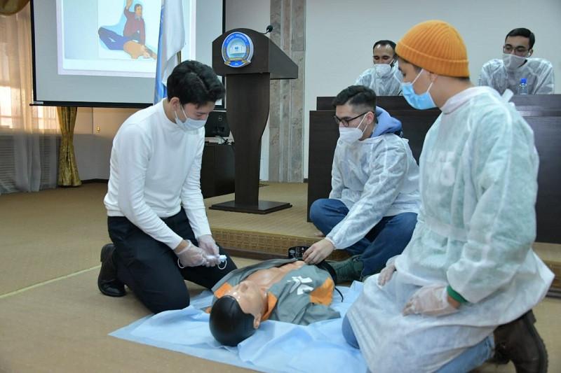 Астанада 90 медициналық волонтерді оқыту аяқталды