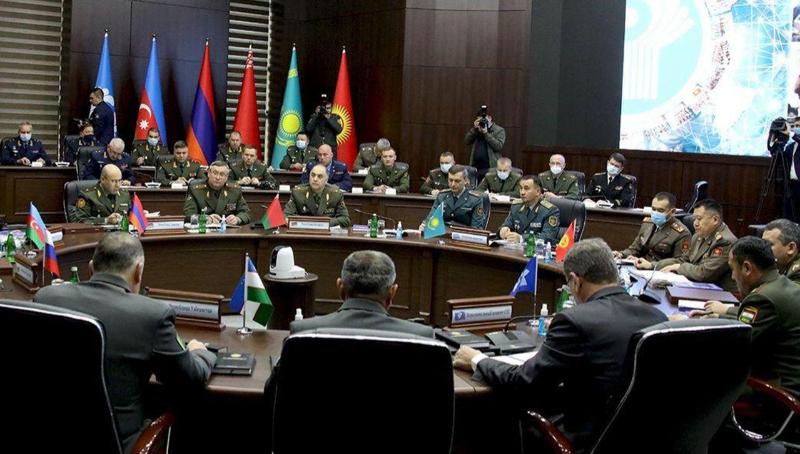Вопросы региональной безопасности обсудили начальники штабов армий стран СНГ в Самарканде