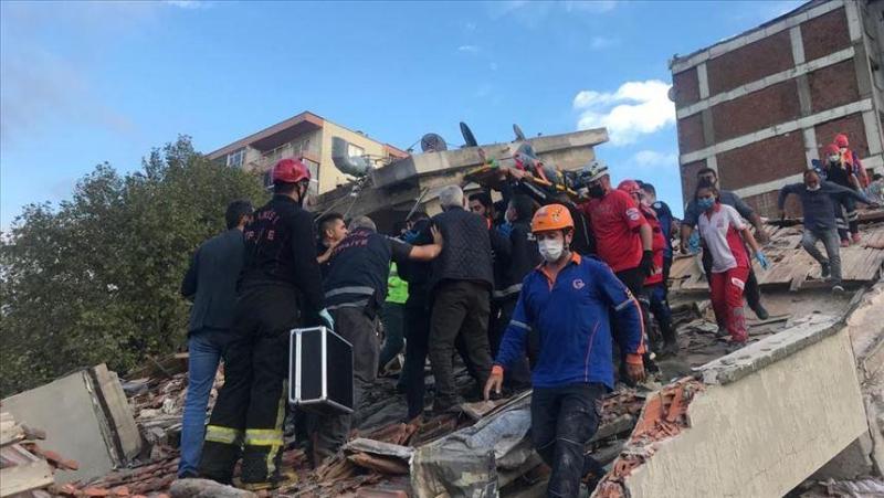 До 12 увеличилось число погибших при землетрясении в Турции, 522 человека пострадали