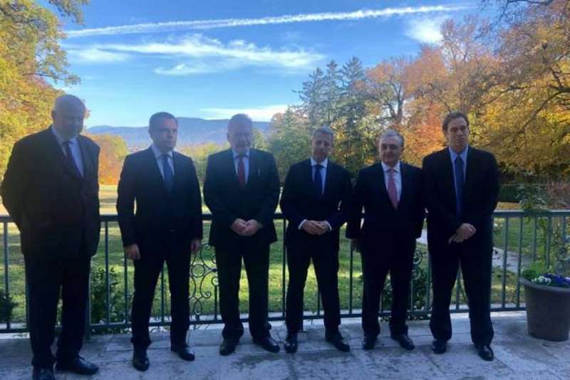 В Женеве завершилась встреча глав МИД Армении и Азербайджана