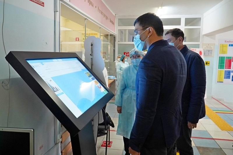 Новое оборудование поступило в ряд медучреждений Нур-Султана