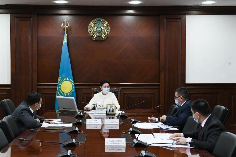 Обсуждены вопросы обеспечения Кызылординской области продовольственными товарами