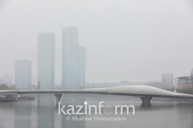 Nur-Sultan men elimizdiń úsh oblysynda aýa raıyna baılanysty eskertý jarııalandy