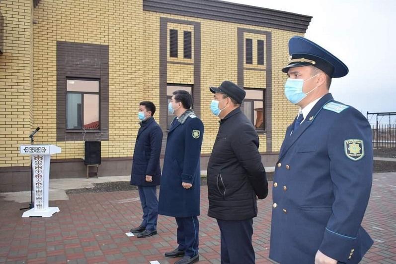 Новое здание прокуратуры построили в Таскалинском районе ЗКО