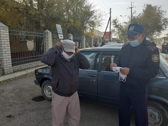 Рейды по соблюдению санитарных норм проводятся в Жанибекском районе ЗКО