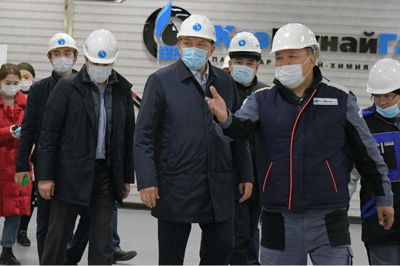 О проектах модернизации рассказали Нурлану Ногаеву на нефтехимических и энергопредприятиях Павлодара
