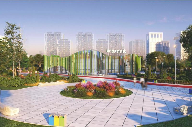 Construction of sports center underway in Kazakh capital's Botanical Garden