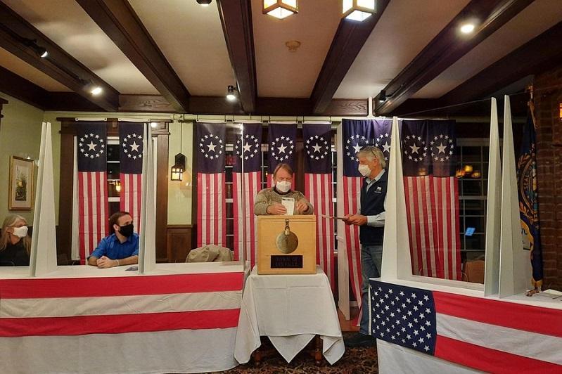 美国大选选举日投票开始