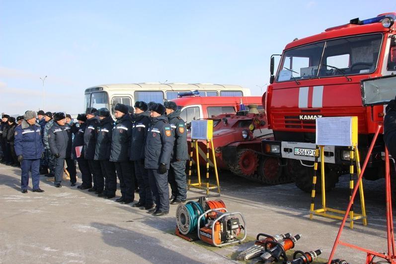 哈萨克斯坦启动冬季2020救援演习