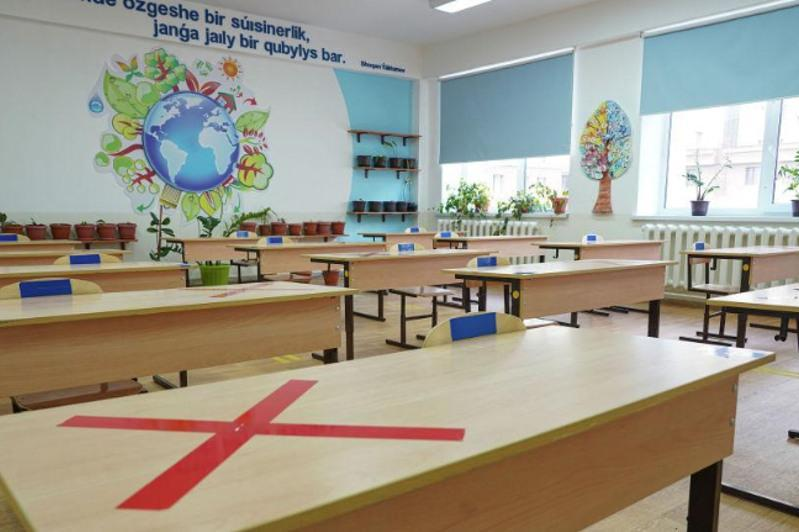 Over 40,000 elementary school students attended in-person classes in Nur-Sultan