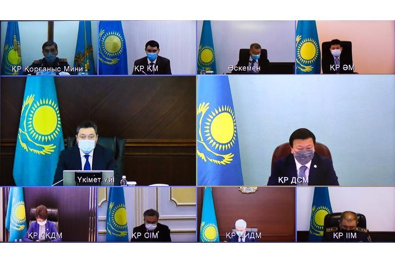 Премьер-Министр РК провел заседание МВК по COVID-19