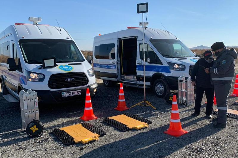 Два новых мобильных поста транспортного контроля появились в Карагандинской области