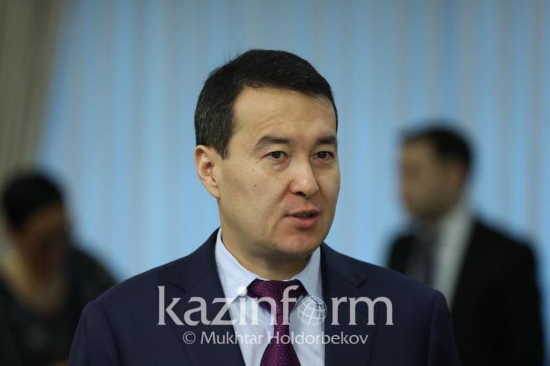 О льготном кредитовании МСБ рассказалАлихан Смаилов