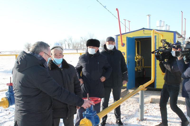 Село Болгарка газифицировали в Актюбинской области