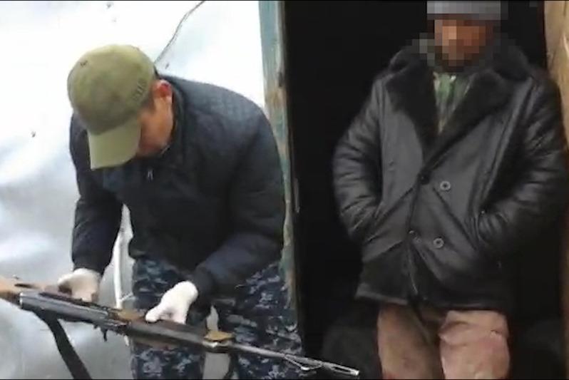 Shopannyń vagonynan esirtki men qarý-jaraq tabyldy – Jambyl oblysy
