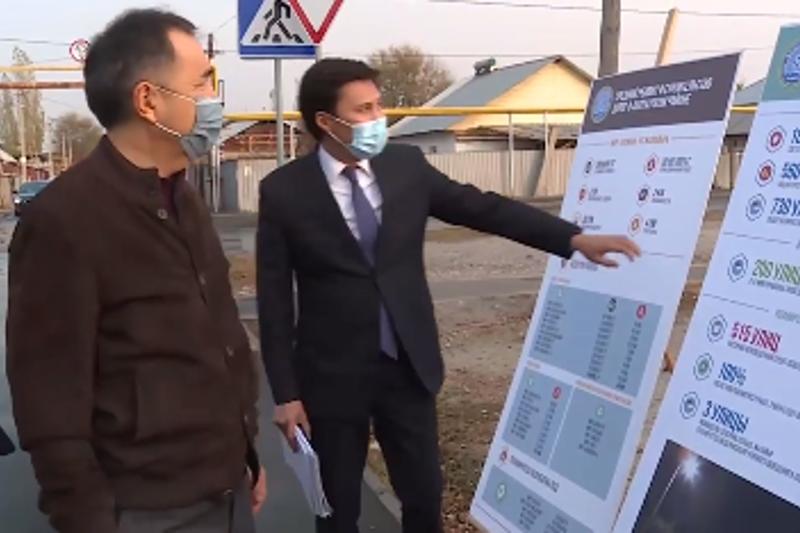 Сағынтаев Жаңа Алматыдағы жолдардың құрылысы туралы айтты