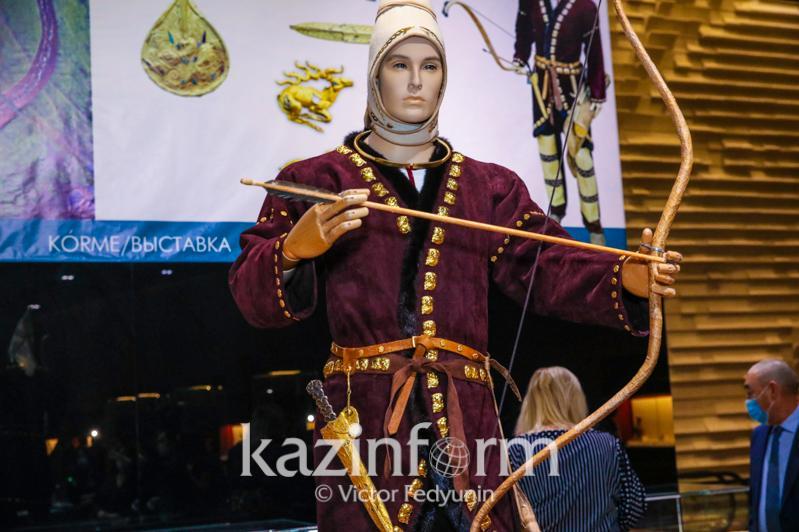 Зал древнего искусства и технологий Великой степи открыли в Национальном музее