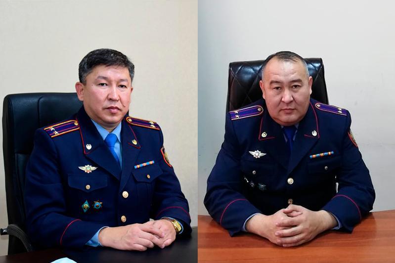 Новые назначения в департаменте полиции Карагандинской области