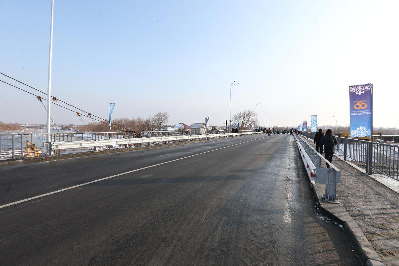 Two highway bridges unveiled in Taldykorgan