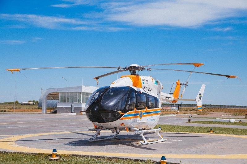 Как осуществляется оказание медицинской помощи в форме медицинской авиации в РК