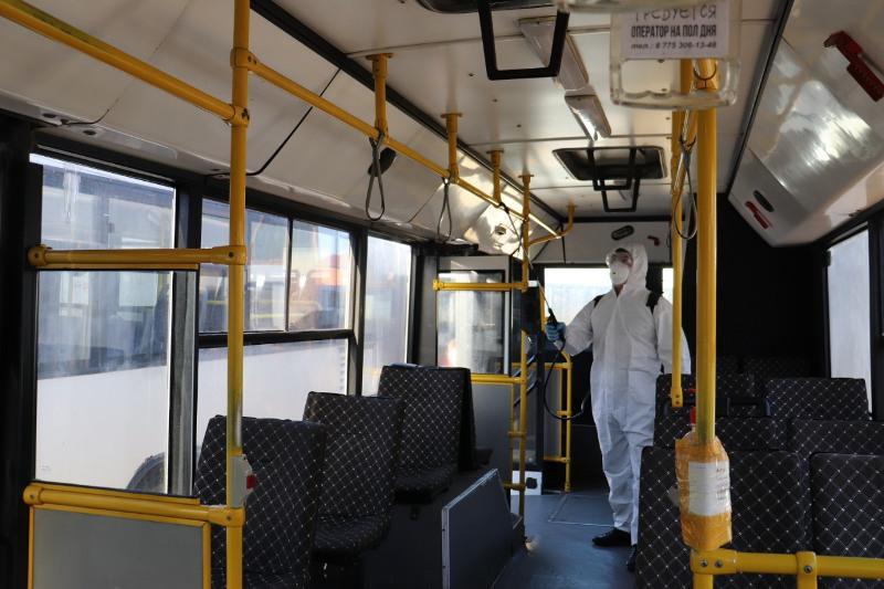 Общественный транспортне будеткурсироватьв Нур-Султане 22 ноября