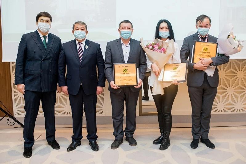 В столице наградили победителей конкурса «Зеленый офис -2020»