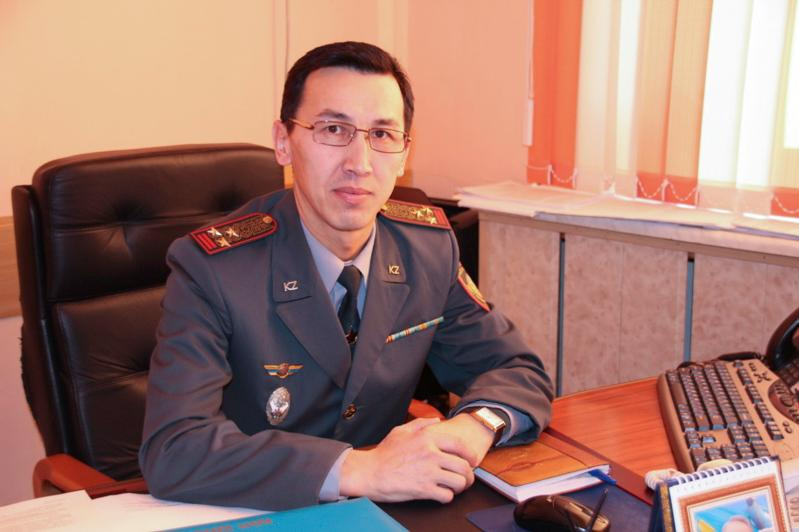 Назначен новый начальник департамента по ЧС Карагандинской области
