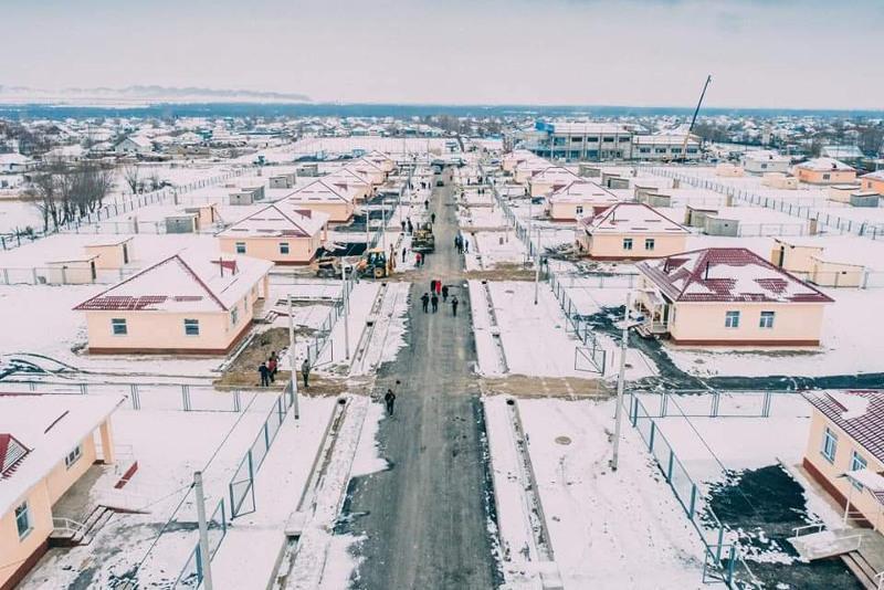 Более 40 домов сдали в эксплуатацию в отдаленном селе Алматинской области