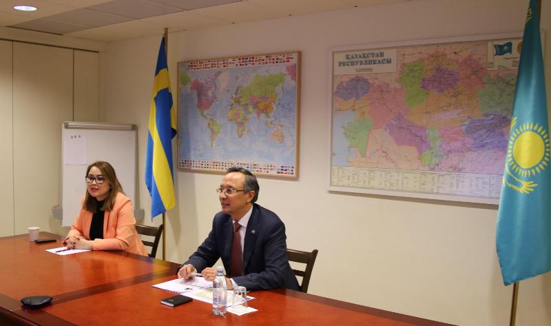 Ассоциация дружбы с парламентами Центральной Азии создана в Швеции