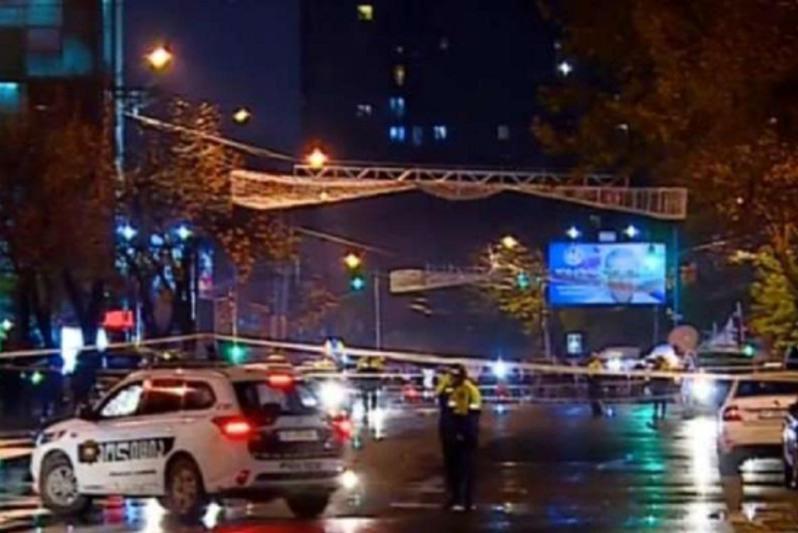 Задержание налетчика и освобождение заложников в Тбилиси подтвердили в МВД Грузии