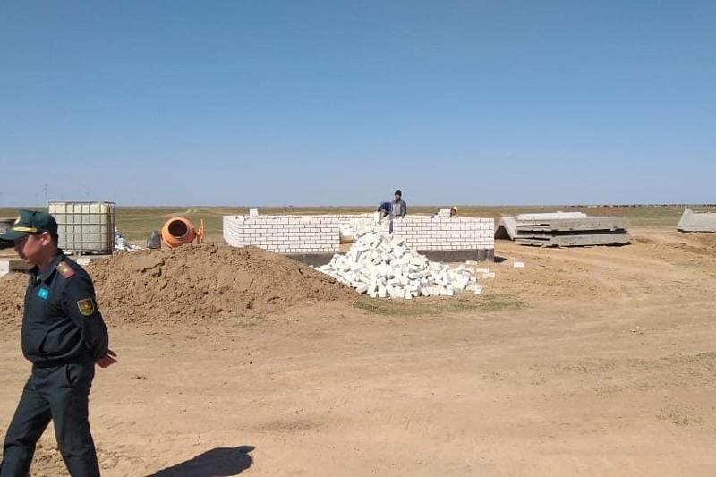 67 домов для сельчан строятся в Каратобинском районе ЗКО
