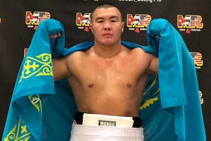 Kazakh boxer produces 43-second KO
