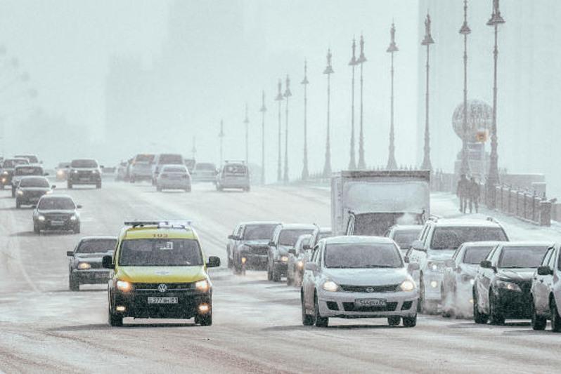 Схему организации дорожного движения поэтапно меняют в Нур-Султане