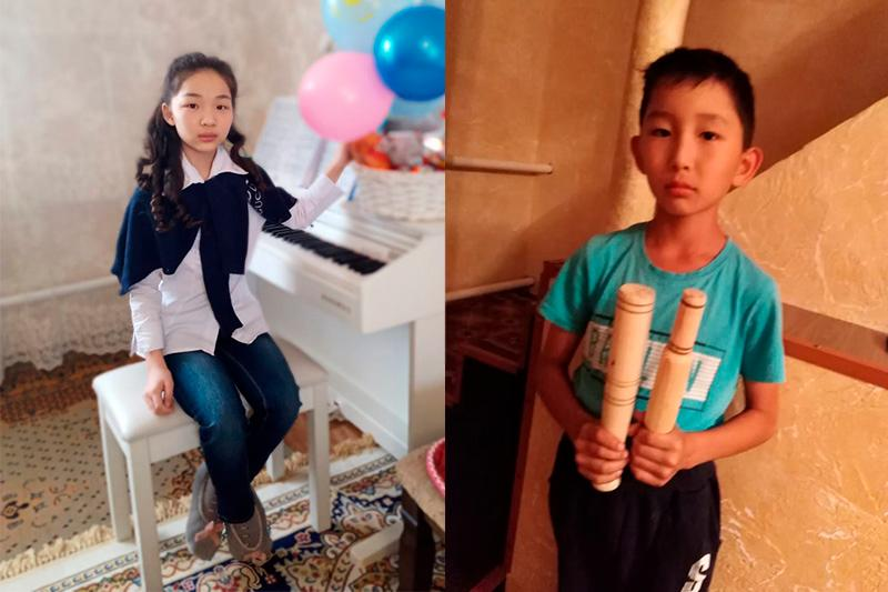 Акмолинская школьница и её брат вошли в список лучших детей мира