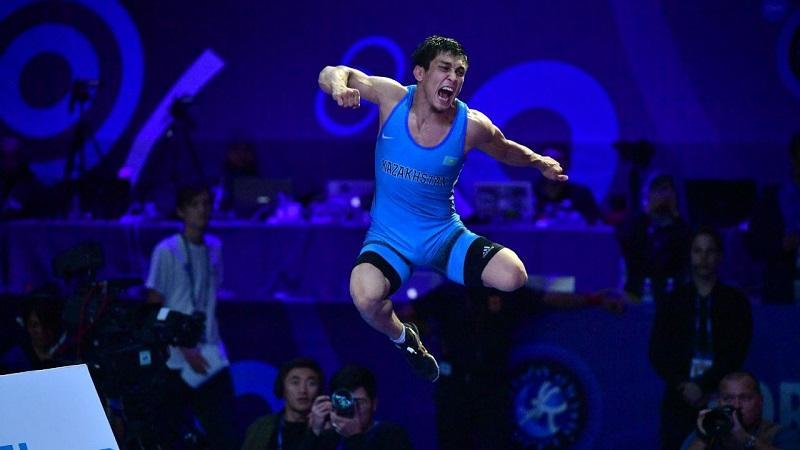 Еркін күрес: Дәулет Ниязбеков Қазақстанның 8 дүркін чемпионы атанды