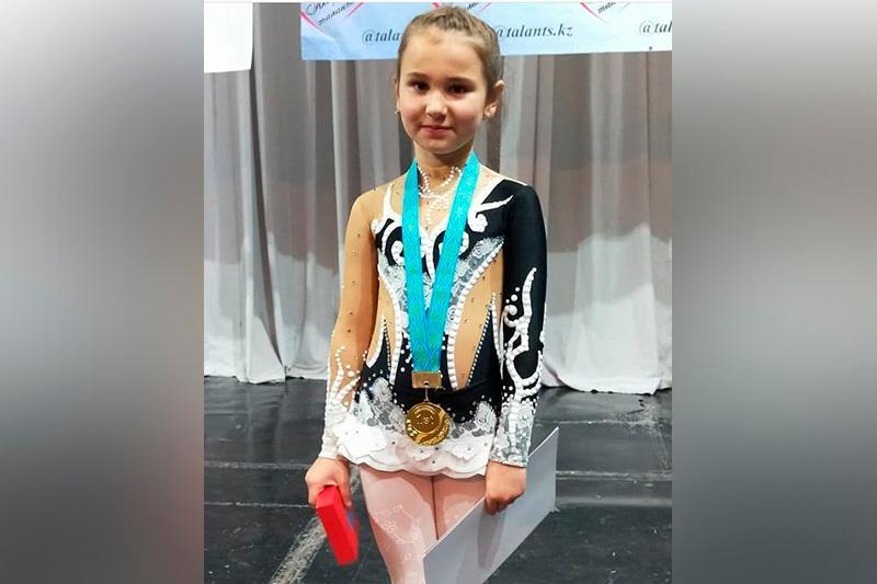 Гран-при республиканского конкурса завоевала воспитанница цирковой студии Акмолинской области