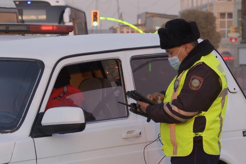 Более трех тысяч нарушений ПДД за три дня зафиксировали туркестанские полицейские