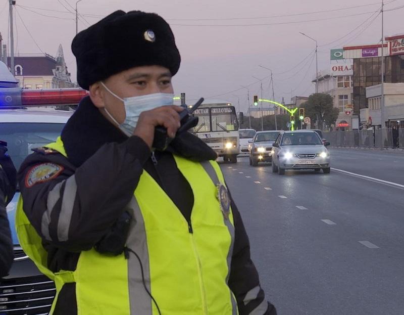 Түркістан облысында үш күнде 21 мас жүргізуші ұсталды
