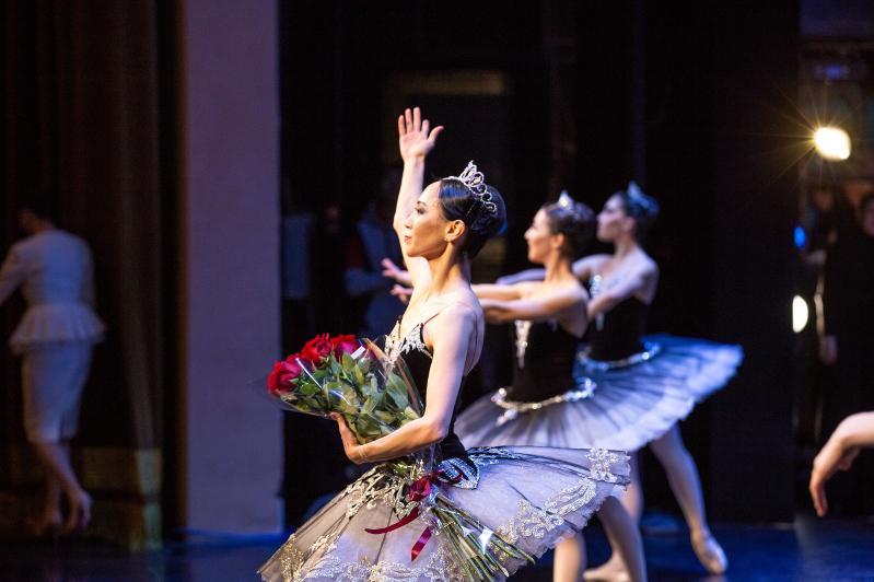 Премьера хореографической миниатюры состоялась в театре «Астана балет» в столице