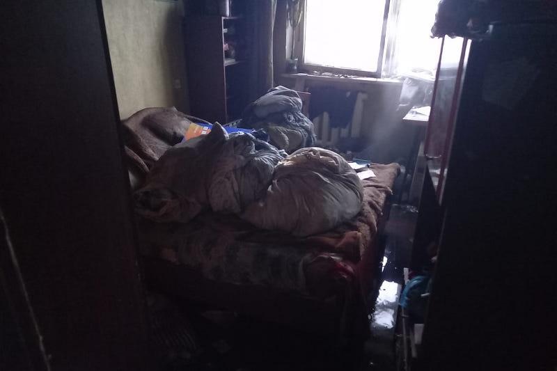 Труп мужчины обнаружили на месте пожара в квартире Павлодара