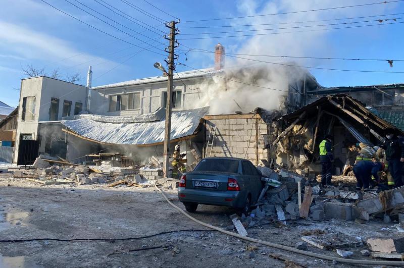 Взрыв в столичном кафе: три человека находятся в реанимации