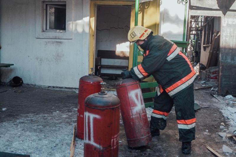 Елордада жарылыс болған дәмханадан 35 газ баллоны шығарылған – ТЖМ