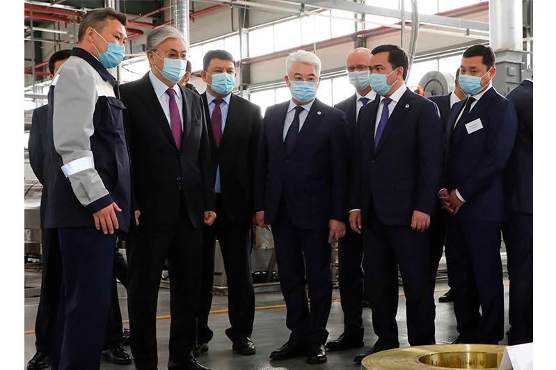Қарағанды облысында пандемияға қарамастан, экспорттық әлеуеті мол инвестициялық жобалар іске асырылуда – Президент