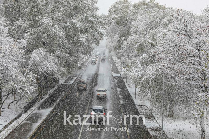 Storm warning issued for 3 regions of Kazakhstan