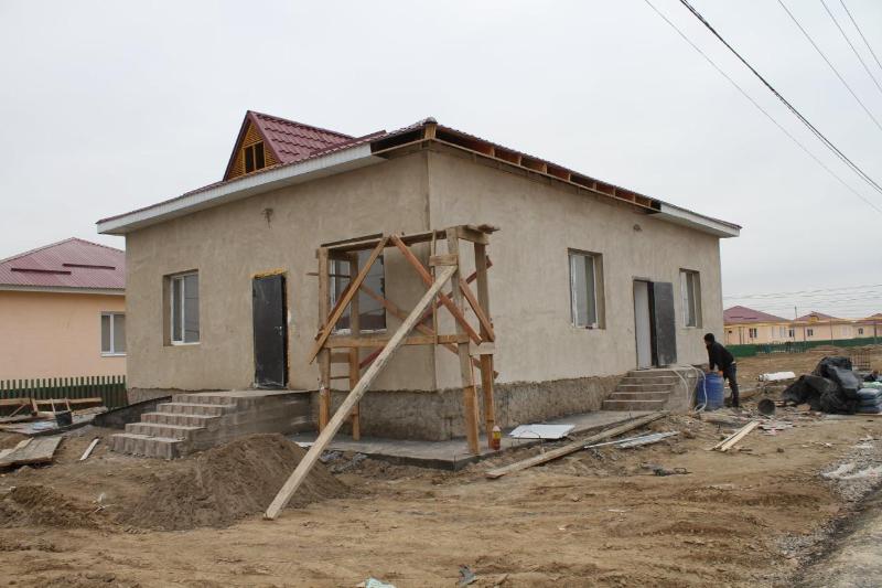 Мақтаарал ауданында әлеуметтік нысандардың құрылысы қарқынды жүргізілуде