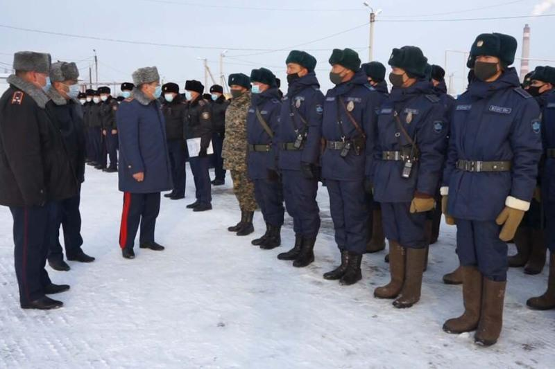 51 мониторинговая группа полиции контролирует соблюдение режима карантина - Жанат Сулейменов