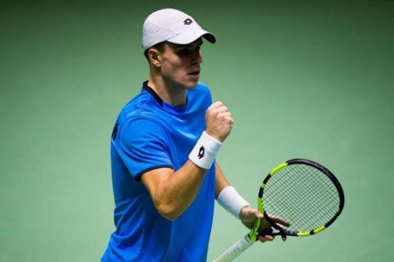 Kazakhstani Popko advances into 2nd round of ATP Tour Challenger event in Brazil