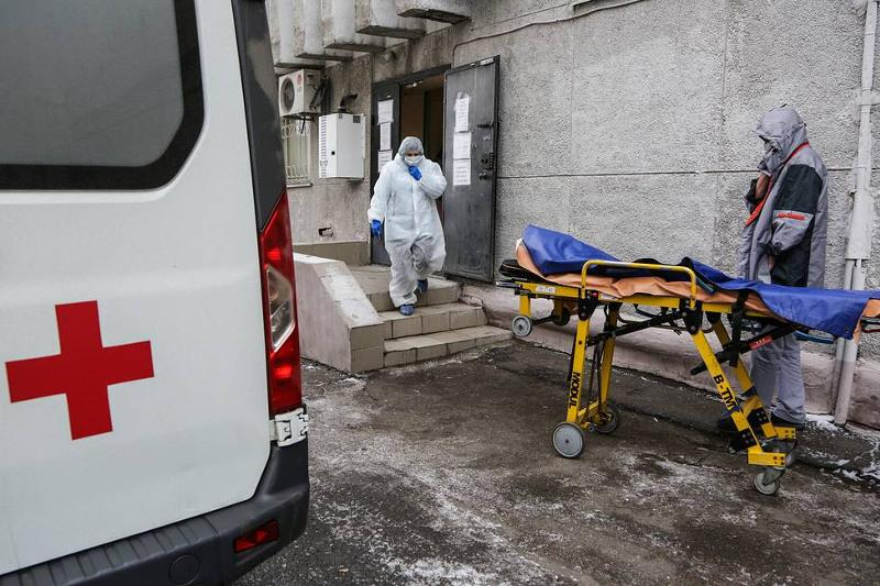 新冠肺炎:俄罗斯单日新增死亡病例接近500例